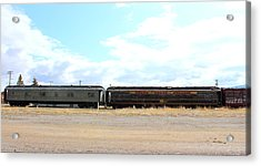 Sign Of Times Gone By  Acrylic Print by Roxann Tempel