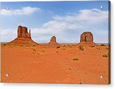 Signatures Of Monument Valley Acrylic Print
