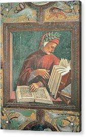 Signorelli Luca, Dante Alighieri, 1499 Acrylic Print by Everett