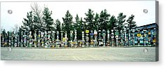 Signposts At The Roadside, Sign Post Acrylic Print by Panoramic Images