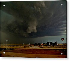 Acrylic Print featuring the photograph Signs Of A Supercell by Ed Sweeney
