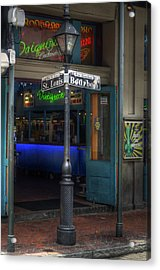 Signs Of Bourbon Acrylic Print by Greg and Chrystal Mimbs