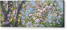 Signs Of Spring Acrylic Print by Michael Ashmen