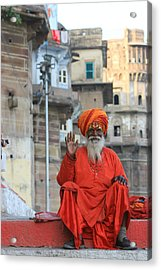 Indian Man Acrylic Print