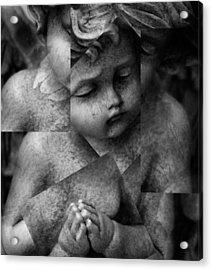 Silence Of A Seraphim  Acrylic Print by Jerry Cordeiro