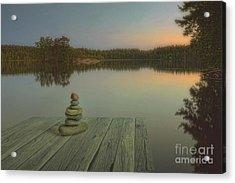 Silence Of The Wilderness Acrylic Print by Veikko Suikkanen