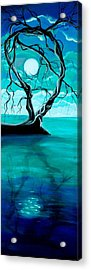 Silent Beauty Acrylic Print by Angie Phillips