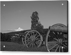 Silent Cannons Acrylic Print by Michael Williams