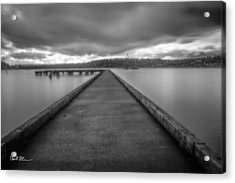 Silent Dock Acrylic Print