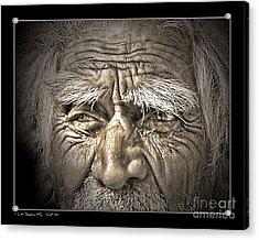 Silent Eyes Acrylic Print
