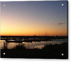 Silent Harbor Acrylic Print