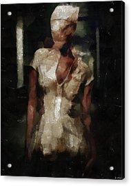 Silent Hill Nurse Acrylic Print