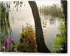 Silent Lakeside Acrylic Print