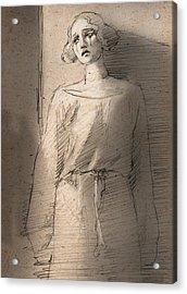 Silent Movie Acrylic Print by H James Hoff