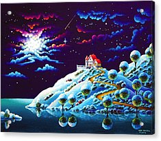 Silent Night 9 Acrylic Print by Andy Russell