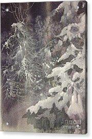 Silent Night Acrylic Print by Elizabeth Carr