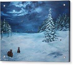Silent Night Acrylic Print by Jean Walker