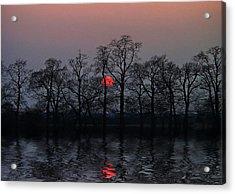 Silent Sun Acrylic Print by Joachim G Pinkawa
