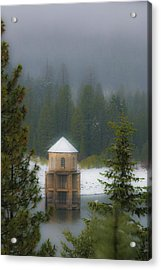 Silent Tower Acrylic Print by Jan Davies