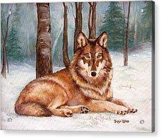 Silent Watch Acrylic Print by Tanja Ware