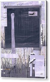 Silently The Storm Corrodes Acrylic Print by Dan Haley