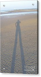 Acrylic Print featuring the photograph Silhouette II by Nereida Rodriguez