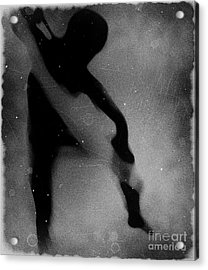 Silhouette Of An Oddity Acrylic Print by Jessica Shelton