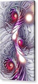 Silk Acrylic Print by Anastasiya Malakhova