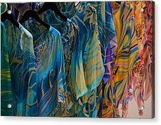 Silk Tops Acrylic Print