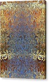 Silken Luxury Acrylic Print by Jane McIlroy