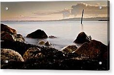 Silky Pacific Ocean Acrylic Print