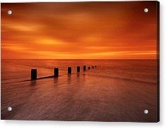 Silky Sunrise Acrylic Print by Mark Leader