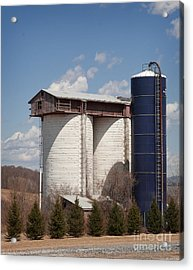 Silo House With A View - Color Acrylic Print