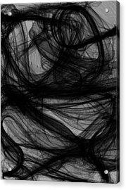 Silt Acrylic Print by Guillermo De Llera