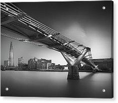 Silver City 3 Acrylic Print