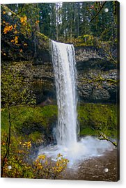 Acrylic Print featuring the photograph Silver Falls - South Falls by Dennis Bucklin
