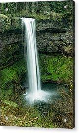 Silver Falls State Park 34 Acrylic Print by Josh Whalen