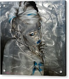 Silver Flight Acrylic Print