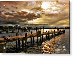 Silver Lake Harbor Acrylic Print