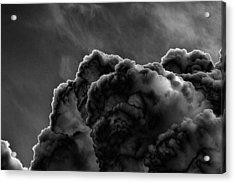Silver Lining Acrylic Print by Thomas  MacPherson Jr