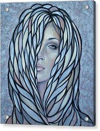 Silver Nymph 021109 Acrylic Print