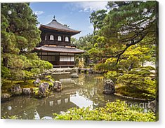 Silver Pavilion Kyoto Japan Acrylic Print