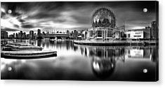 Silver-plated Vancouver Acrylic Print
