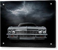 Silver Sixty Five Acrylic Print