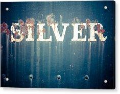 Silver Acrylic Print by Takeshi Okada