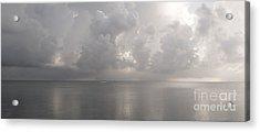 Silvern Sea Acrylic Print by Amar Sheow