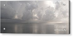 Silvern Sea Acrylic Print