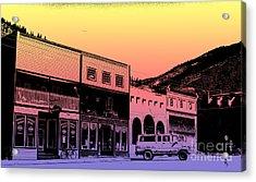 Silverton Colorado Acrylic Print by Janice Rae Pariza