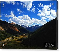 Acrylic Print featuring the photograph Silverton by Kate Avery