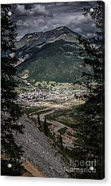Silverton View From Above Acrylic Print by Jim McCain